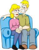 夫妇恋人 库存图片