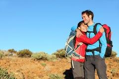 夫妇愉快的健康生活方式 免版税库存图片