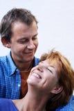 夫妇愉快的系列 免版税库存图片