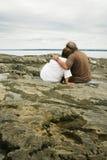 夫妇成熟 免版税图库摄影