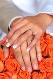 夫妇新婚佳偶 免版税库存图片