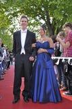 夫妇正式舞会 免版税库存图片