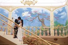夫妇浪漫史 免版税库存图片