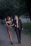 夫妇浪漫爱的照片 免版税库存照片