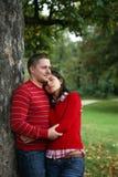 夫妇浪漫系列 免版税图库摄影