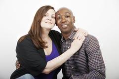 夫妇混合的族种 免版税图库摄影