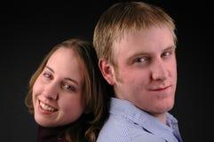 夫妇照片 免版税库存照片