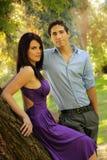 夫妇爱年轻人 免版税图库摄影
