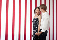 夫妇爱年轻人 图库摄影