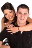 夫妇爱年轻人 免版税库存图片