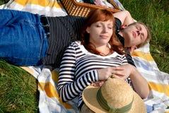 夫妇爱本质 免版税图库摄影