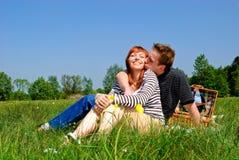 夫妇爱本质 免版税库存图片