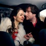 夫妇爱的年轻人 免版税库存照片