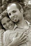 夫妇爱 库存照片