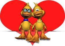 夫妇爱 皇族释放例证