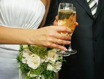 夫妇玻璃 免版税库存照片