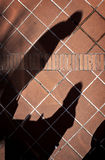 夫妇的阴影 图库摄影