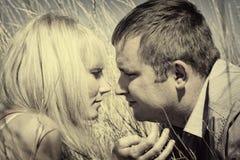 夫妇的画象 免版税图库摄影
