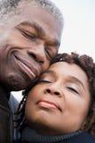 夫妇的画象 免版税库存图片