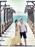 夫妇码头 库存照片
