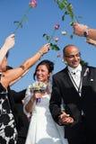 夫妇突尼斯土耳其婚礼 库存图片