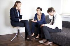 夫妇精神分析疗法 免版税库存图片