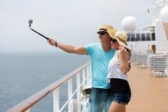 夫妇自画象巡航 免版税图库摄影