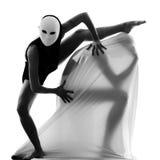 夫妇舞蹈家执行者爱概念 免版税库存照片