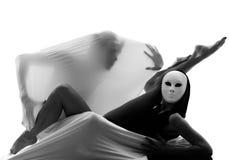 夫妇舞蹈演员执行者爱概念 免版税库存图片