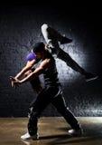 夫妇舞蹈演员 库存图片