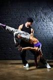 夫妇舞蹈演员 免版税图库摄影