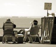 夫妇英语夏天 免版税库存图片