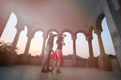夫妇跳舞例证音乐会向量 免版税库存照片