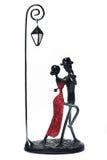 夫妇跳舞装饰探戈 免版税图库摄影
