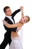 夫妇跳舞 库存照片