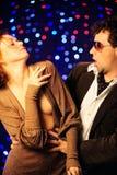 夫妇跳舞 免版税库存图片