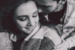 年轻夫妇身分和容忍 库存图片