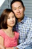 夫妇韩文 图库摄影