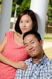 夫妇韩文 免版税图库摄影