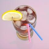 夫妇饮料冰 免版税图库摄影