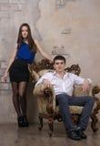 年轻夫妇 免版税库存照片