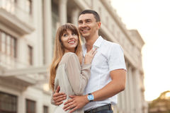 年轻夫妇 库存照片