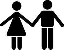夫妇 向量例证