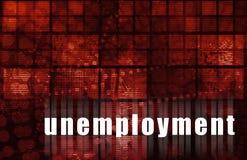 失业 向量例证