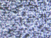 失去的屏幕信号电视向量 库存照片
