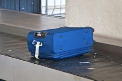 失去的手提箱 库存照片