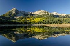 失去的湖泥沼反映 库存照片
