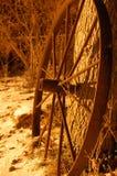 失去的马车车轮 库存照片