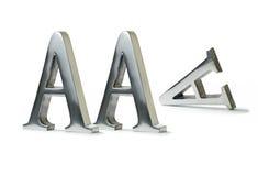 失去的AAA评级 免版税图库摄影