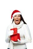 失望的圣诞节礼物 库存图片
